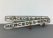 MERCEDES-BENZ Hinweis Reklame Blechschilder Sheet Metal Information Signs Logo