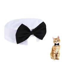 Cat Puppy Kitten Dog Pet Collars Bow Tie Bell Necktie Pet Cute Collar Adjustable