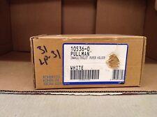 KOHLER K-10536-0 Pullman In-wall toilet tissue holder WHITE