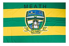 Meath Official GAA Crest County Flag 152cm x 91cm (5foot x3 foot)
