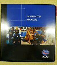 PADI Instructor Manual with Binder - Brand New - SCUBA DIVING MANUAL