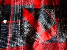 chemise carreaux rouge T12/14 ANS