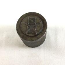 Vintage Rifle Club Target Crossed Rifles Medal Medallion Fob Badge Die