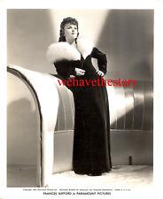 Vintage Frances Gifford GORGEOUS FUR GLAMOUR '42 DBW Publicity Portrait