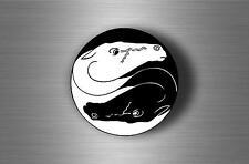 Adesivi adesivo sticker tuning tribale tribali auto moto jdm ying yang cavallo