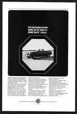 1965 Original Vintage MG MGB Convertible Car Photo vintage print ad