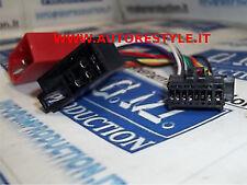 Cavo ISO adattatore autoradio radio Pioneer 16 pin dal 2010 in poi 22×10,7 mm