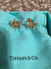 Tiffany & Co. Butterfly Earrings In 18K Rose Gold