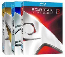 Blu Ray STAR TREK - La Serie Classica - Stagione 1-2-3 (20 Blu Ray) ....NUOVI