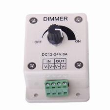 DC 12V-24V 8A PWM Dimmer Controller Adjustable Brightness LED Lamp Strip Light