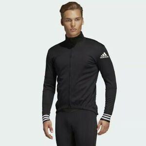 ADIDAS Adistar Over Long Sleeve Cycling Jersey/Jacket Mens SMALL CW7727 Black
