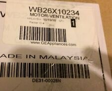 NEW Genuine GE WB26X10234 Motor-Ventilation