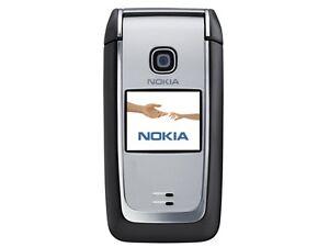Nokia 6125 2G GSM 850 / 900 / 1800 / 1900 Bluetooth FM Radio flip Cell Phone