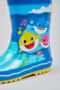 Baby Shark Rubber Welly Boot