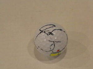 JASON DAY SIGNED MASTERS GOLF BALL PROOF AUTOGRAPHED CHAMPION