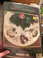 Dimensions The Gold Collection 8474 Mystical Angel Tree Skirt Cross Stitch
