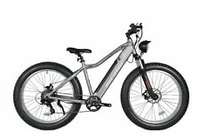 Micargi Steed 800 Watts 7 Speed Electric Bicycle MTB Aluminum Frame matte Grey