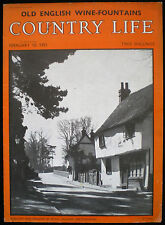 MUCH HADHAM VILLAGE HERTFORDSHIRE 1pp PHOTO STUDY 1955