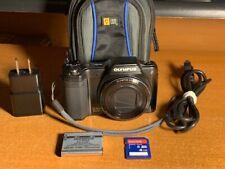 Olympus Stylus SZ-15 16.0MP Digital Camera - Black