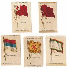 New listing 5 - Egyptienne Straights Cigarette National Flag Series Inserts Early 1910'S