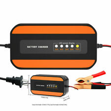 Wide Voltage Motor Car Digital Display Pulse Repair Lead-acid Battery Charger