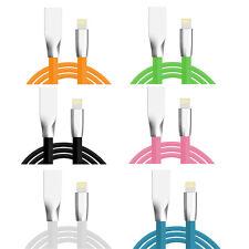 IPhone 7 6 se 5s iPad iPod 3d zinc alliage câble usb Câble de données Câble de charge 1m