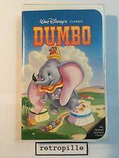 Dumbo, Walt Disney, Black Diamond, Big Label, Vhs, englisch,Selten,Rare,Top,Rare