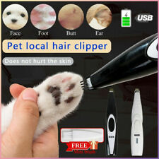 Electric Pet Cat Dog Hair Trimmer Fur Shaver Foot Clipper Grooming Remover Tool