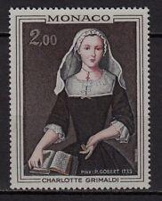 Ab72* Timbre MONACO Neuf**MNH TBE 1973 n°946 (Princesse Charlotte)
