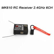 MK610 2.4GHz DSM2 Spread Receiver For AR6100 Spektrum Dx5e Dx6i Dx7 Transmitter