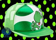 New Nintendo Yoshi Super Mario Sublimated Trucker Womens Snapback Cap Hat