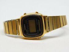 Casio 3191 LA670W Gold Tone Quartz Digital Ladies Watch