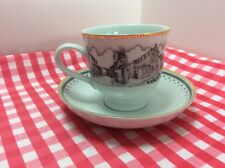 """Beautiful Cup And Saucer Depicting """" Southwell 2000"""""""