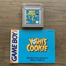Yoshi's Cookie - Cart & Manual - Gameboy - FREE Combined Shipping