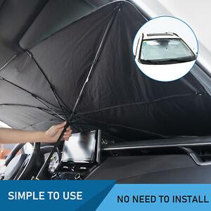 Foldable Car SUV Windshield Sunshade Front Window Cover Sun Visor Shade Umbrella