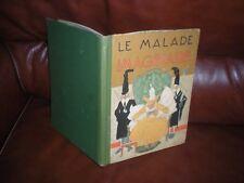 LE MALADE IMAGINAIRE - HACHETTE 1928 - ILLUSTRATIONS FELIX LORIOUX