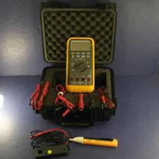 Fluke 88 Automotive Meter, Excellent, Screen Protector, Clamp, Hard Case