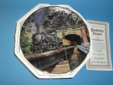 """Hamilton Collection Harper's Ferry Railroad Plate 9"""""""