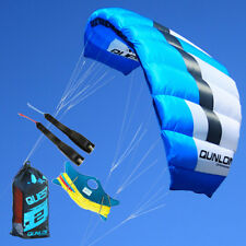 2M² Dual-Line Traction Kite Kit for Training Kite Surfing Beginner Practice Blue