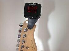 Luz de fondo Clip En Afinador Cromático Guitarra Bajo Voilin