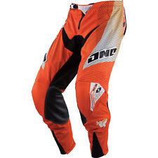 NEW ONE INDUSTRIES REACTOR ORANGE ATV  MX BMX RACING PANT PANTS  size 32