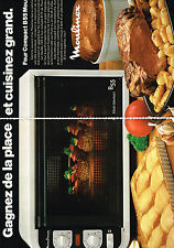 PUBLICITE  1978   MOULINEX    four compact B55 ( 2 pages)