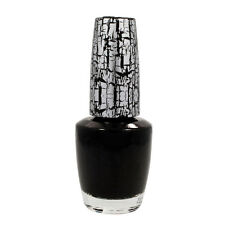 2 OPI Nail Polish Lacquer Effects Salon Manicure Top Style BLACK SHATTER 0.5 oz