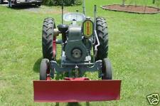 GIBSON TRACTOR OPERATIONS MANUAL & PARTS LIST w Maintenance Service & Owner Info