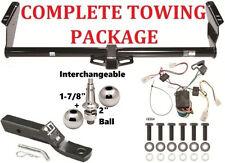 """04-10 Toyota Sienna Complete Trailer Hitch PKG Interchangeable 2"""" & 1-7/8"""" Balls"""