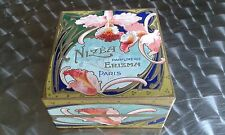 ANCIENNE BOITE A POUDRE NIZEA (OLD POWDER BOX) PARFUMERIE ERIZMA ART NOUVEAU