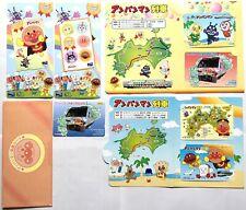 RARE Anpanman Used Metro Book Card 7 Booklet Anime Animation Cartoon 2003 JAPAN