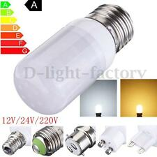 E12/E14/E27/B22 7W 27 LED 5730 SMD Corn Light Lamp Bulb Warm/White 12V/220V