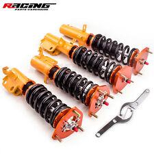 For Toyota Corolla 88-99 Adjustable Coilovers Shock Absorber Struts rpw