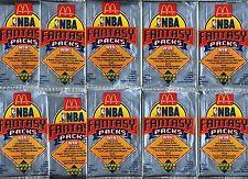 RARE 1992/93 UPPER DECK McDONALDS BASKETBALL PACKS! SHAQ ROOKIE & JORDAN!